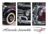 Historische Automobile - immerwährender Kalender