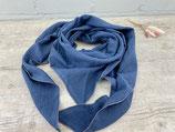Musselin-Tuch Erwachsene uni rauchblau