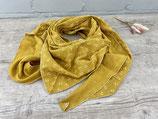 Musselin-Tuch Erwachsene Anker senf