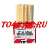 Оригинальный масляный фильтр Тойота РАВ4 2.0 148/158 лс 2008-2012 (TOYOTA RAV4) 04152YZZA6