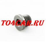 Оригинальная сливная пробка Шкода Октавия 1.8 152 лс 2009-2013 (SKODA OCTAVIA) N91167901