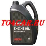 Оригинальное моторное масло Митсубиси Паджеро Спорт 3.0 220 лс 2010-2016 (MITSUBISHI PAJERO SPORT 2 3.0) 5W30 (4л) MZ320757