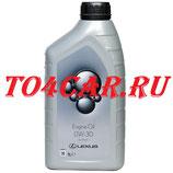 Оригинальное моторное масло LEXUS RX200T / RX300 / RX350 2015- 0W30 1L МАСЛО МОТОРНОЕ LEXUS SYNT EG 0888082644GO