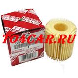 Оригинальный масляный фильтр Тойота Королла 1.6 124 лc 2009-2013 (TOYOTA COROLLA) 04152YZZA6