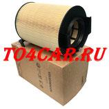 Оригинальный воздушный фильтр Шкода Октавия 1.6 102 лс 2009-2013 (SKODA OCTAVIA 2 1.6) 1F0129620