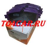 Задние тормозные колодки NIBK (ЯПОНИЯ) Мазда 6 2.5 192 лс 2012-2018 (MAZDA 6 2.5)