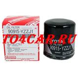 Оригинальный масляный фильтр Тойота Королла 1.6 124 лс 2007-2008 (TOYOTA COROLLA) 90915YZZJ1