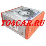 Передний тормозной диск NIBK/TRW (комплект из 2шт) Ниссан Тиида 1.6 110 лс 2007-2015 (NISSAN TIIDA) RN1424 ПРОВЕРКА ПО VIN
