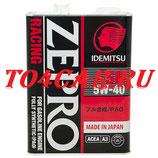 4L 5W40 IDEMITSU ZEPRO RACING API SN Тойота Камри 2.4 167 лс 2006-2011 (TOYOTA CAMRY 2.4) 3585004
