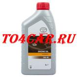 Оригинальное моторное масло Тойота Прадо 120 4.0 249 лс 2002-2009 (TOYOTA PRADO 120) 5W40 (1л) 0888080376GO