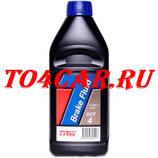 Тормозная жидкость TRW DOT4 (1л) Рено Аркана 1.3 150 лс 2019- (RENAULT ARKANA 1.3)