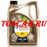 Моторное масло TOTAL QUARTZ 9000 FUTURE NFC 5W-30 4L Киа Соренто Прайм 2.2 200 лс 2014-2020 (SORENTO PRIME 2.2D 2014-) 183450