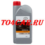 Моторное масло TOYOTA 5W30 FE (1L) Тойота Прадо 2.7 163 лс 2009-2017 (TOYOTA PRADO 150 2.7 БЕНЗИН) 0888080846