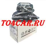 Оригинальные передние тормозные колодки Фольксваген Поло Седан 1.6 105 лс 2010-2015 (VOLKSWAGEN POLO SEDAN) Коды опций 1ZE