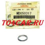 Оригинальная прокладка сливной пробки Митсубиси Аутлендер (Mitsubishi Outlander II) 2.0 147 лс 2009-2012 MD050317