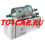 Оригинальный топливный фильтр с регулятором давления (Коды опций: 1A1) Фольксваген Гольф 6 1.4 122 лс 2010/06/07-2012 (GOLF 6) 6Q0201051J