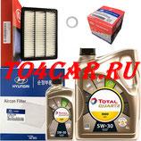 Комплект для ТО1-ТО3-ТО5-ТО7-ТО9 Хендай Туссан 2.0 150 лс 2015-2020 (HYUNDAI TUCSON) FUTURE NFC