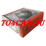 Комплект (2шт) передних тормозных дисков NIBK (ЯПОНИЯ) Ниссан Кашкай 1.6 2007-2014 (NISSAN QASHQAI 1.6) RN1303 ПРОВЕРКА ПО VIN