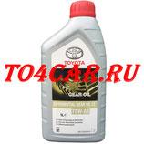 Трансмиссионное масло для дифференциалов (масло в мосты) Toyota Genuine Differential Gear Oil LT 75W-85 GL-5 Тойота Прадо 2.8d 177 лс 2015-2020 (TOYOTA PRADO 150 2.8 дизель) (1л) 0888581060