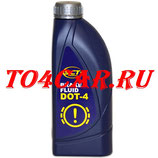 Тормозная жидкость MANNOL DOT4 (1л) Киа Соренто 2.4 175 лс 2012-2017 (SORENTO FL)