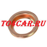 Оригинальная прокладка сливной пробки Рено Аркана 1.6 2019- (RENAULT ARKANA 1.6) 1102601M02