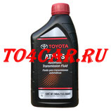 Оригинальное масло АКПП Тойота Ленд Крузер 200 4.5d 235 лс 2007-2015 (TOYOTA LAND CRUISER 200) TOYOTA ATF WS (1л) 00289ATFWS / 0888681210