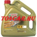 Моторное масло Шкода Октавия 1.6 102 лс 2009-2013 (SKODA OCTAVIA 2 1.6) МАСЛО МОТОРНОЕ СИНТЕТИЧЕСКОЕ CASTROL EDGE C3 5W-30 4Л 15A568