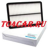 Оригинальный воздушный фильтр Мазда 6 2.5 192 лс 2012-2018 (MAZDA 6 2.5) PE07133A0A
