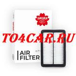 Воздушный фильтр SAKURA Тойота Прадо 4.0 282 лс 2009-2017 (TOYOTA PRADO 150 4.0 БЕНЗИН) A33950