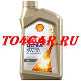 Синтетическое моторное масло Киа Сид 2 1.6 129-130 лс 2012-2018 (CEED II) SHELL HELIX ULTRA PRO AF 5W30 (1л) 550048694