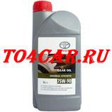Оригинальное трансмиссионное масло в раздатку и мосты Тойота РАВ 4 2.0 2012-2018 (TOYOTA RAV4 2.0) TOYOTA SYNTHETIC GL5 75W90 (1л) 0888502106/0888580606