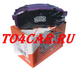 ЗАДНИЕ ТОРМОЗНЫЕ КОЛОДКИ NIBK (ЯПОНИЯ) Тойота Прадо 120 4.0 249 лс 2002-2009 (TOYOTA PRADO 120) PN1243