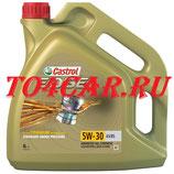 Моторное масло Шкода Октавия 1.6 102 лс 2009-2013 (SKODA OCTAVIA 2 1.6) МАСЛО МОТОРНОЕ СИНТЕТИЧЕСКОЕ CASTROL EDGE A5/B5 5W30 4Л 15BEB9