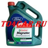 Оригинальное моторное масло FORD-CASTROL MAGNATEC PROFESSIONAL A5 5W30 5L 157B77 / 15D5E9