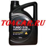 Моторное HYUNDAI TURBO SYN 5W30 (4L) Киа Церато 3 1.6 2013-2018 (KIA CERATO YD 1.6) 0510000441