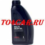 Оригинальное масло в раздатку MULTI GEAR OIL SAE 75W-80 API GL-3 (1л) Митсубиси Паджеро Спорт 2.4D 181 лс 2016- (MITSUBISHI PAJERO SPORT 3 2.4D ДИЗЕЛЬ) MZ320284