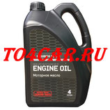 Оригинальное моторное масло Митсубиси АСХ (Mitsubishi ASX) 2.0 150 лс 2010-2016 5W30 (4л) MZ320757