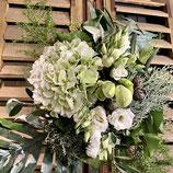 Hortensienliebe in weiß
