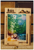 Fine Art Photograph on Wood-Burned Plaque (4x6 in. photo)