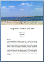 Integration of Solar PV in Israel 2019