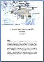 Survey of Israeli drone technology companies 2019