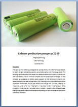 Lithium production prospects 2019