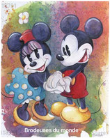 MICKEY  AMOUREUX N°