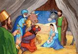 Carte Adoration des Rois mages