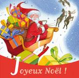Magnet Joyeux Noël traîneau