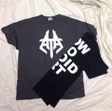 HOW TO AVOID ART Glow-In-The-Dark Grey Shirt - LARGE
