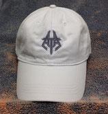 White Adjustable Baseball Hat