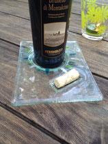 Weinuntersetzer Uni (ohne Farbe)