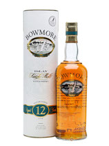 Bowmore 12 Years Screen Printed Label 43%Vol. 100cl.