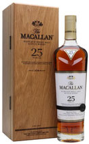 Macallan 25 Years Sherry Oak 2019 43%Vol. 70cl.